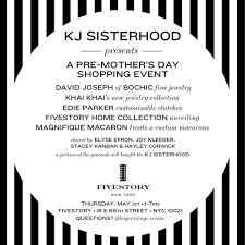 s day shopping save the date pre s day shopping event at fivestory on may