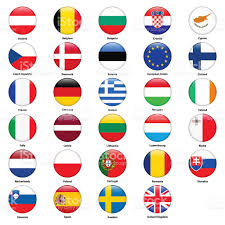 European Countries Flag All Flags Of The Countries Of The European Union Stock Vector Art