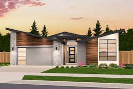 one story modern house plans exclusive one story modern house plan with open layout 85234ms
