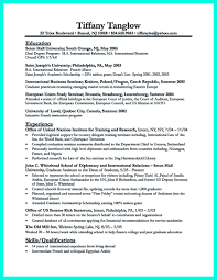College Resume Creator by Best College Student Resume Example To Get Job Instantly