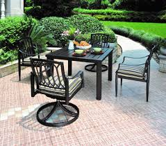 Alumont Patio Furniture by Hanamint Sherwood 44x68 Dining Table All Things Barbecue