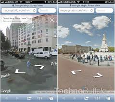 Map Street View Street View Now Available In Google Maps Web App On Ios