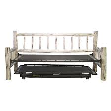 furniture log wood daybed frame with trundle as well as