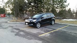 ford escape 2017 black big sound system install need to leverage your experience 2013