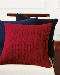 cabled cashmere throw pillow decorative pillows home