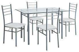 Glass Dining Sets 4 Chairs Glass Dining Room Tables For 8 Black Glass Dining