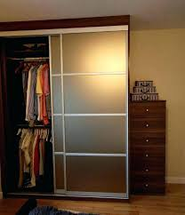 Frosted Closet Sliding Doors Smoked Glass Doors Smoked Glass Door Closet Sliding Doors