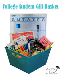 gift baskets for college students craftaholics anonymous college student gift basket