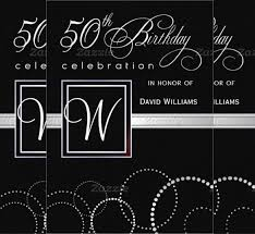 45 50th birthday invitation templates u2013 free sample example