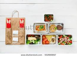 healthy food delivery take away diet stock photo 454419871