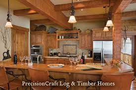 hybrid kitchen log home timber frame hybrid kitchen tamarack idaho flickr