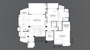 Modified Bi Level Floor Plans Mascord House Plan 1410 The Norcutt