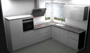 roller einbauküche nobilia markenküche in grau mit schieferplatte 81549 münchen