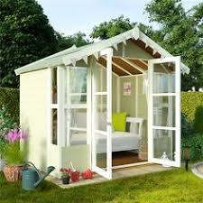 Summer Houses For Garden - avon 10 u0027 x 8 u0027 cambridge summer house with side shed http www