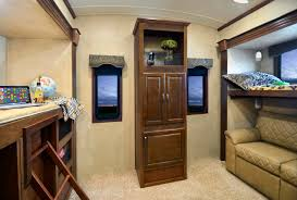 lifestyle luxury rv u0027s alfa gold bunkhouse model has it all rv
