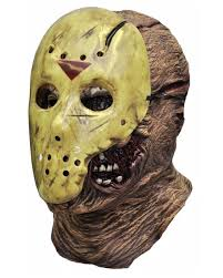 Jason Halloween Mask by Jason Mask New Blood Jason Voorhees Mask Horror Shop Com