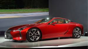 images of lexus lc 500 best production car award at detroit auto show 2016 goes to lexus