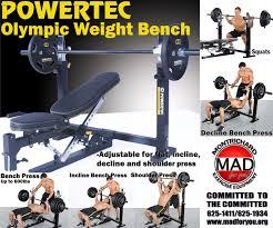 Powertec Weight Bench Powertec Olympic Weight Bench