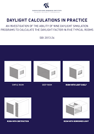 Dimensions Velux Standard by Daylight Calculations In Practice An Investigation Of The Ability