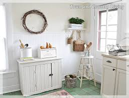 town and country cabinets adding natural texture in the kitchen town country living