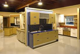 possible fixture for cabinet displays work display ideas - Kitchen Showroom Ideas