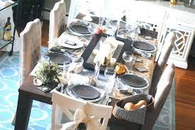 modern table settings modern table settings for thanksgiving awesome modern table settings