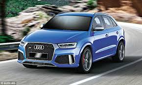 audi costly car the q3 roars and races but it is also costly chris