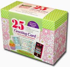 box of 25 assorted all occasion embellished greeting cards by