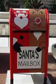 letters to santa mailbox letters for santa mailbox ornament all things christmas