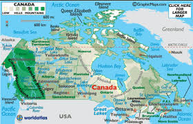Map Of Canada With Cities by Remix Of