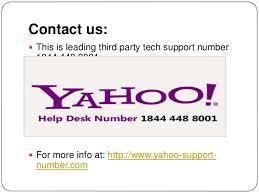 Yahoo Help Desk 1844 448 8001 Phone Number For Yahoo