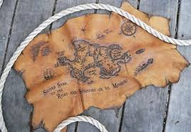 leather map pan neverland leather burned treasure map projects