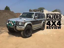 mitsubishi pajero owning a mitsubishi pajero modified 4x4 review youtube