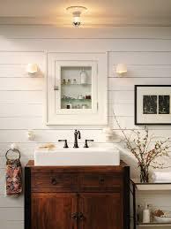 Cottage Style Bathroom Lighting Bathroom - fish camp beach cottage beach style bathroom charming cottage