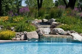 Southwest Landscape Design by Lehigh Acres Pool Landscaping Ideas Rick Roberts Lawn Service