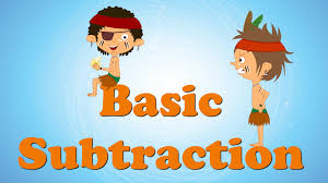basic subtraction for kids youtube