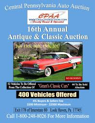 16th annual classic auto auction central pa auto auction by