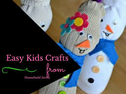 4 easy kids crafts from household items kidzilla