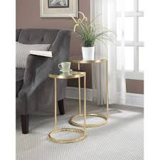 coffee table magnificent nesting nightstand circular nesting