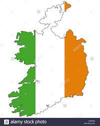 ireland flag outline stock photo royalty free image 28731068