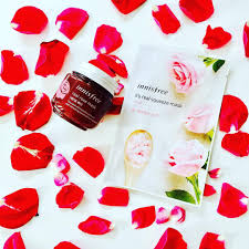 O Skin Care Products Innisfree Rose Mask Korean Mask Recommended Korean