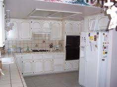 Antique Painted Kitchen Cabinets by Crackle Finish On Kitchen Cabinets Antique Paint Design On