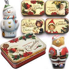 christmas tins wholesale christmas decorative tins ebay