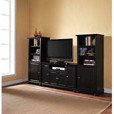 Crosley Tv Stands Better Homes And Gardens Rustic Country Tech Pier Antiqued Black