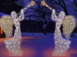 Lighted Christmas Decorations For Outdoors by Charming Christmas Angel Outdoor Decorations Part 2 Christmas