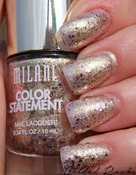 milani cosmetics color statement nail lacquer in gilded rocks