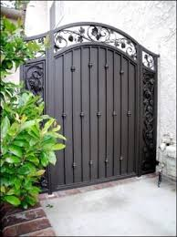 best 25 wrought iron gates ideas on wrought iron