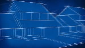 blue prints for houses house blueprints stock footage 487078
