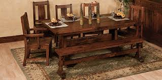 Complete Amish Dining Room Furniture  Amish Tables And Chairs - Amish dining room table