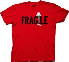 christmas story fragile leg lamp t shirt christmas story mens t shirt